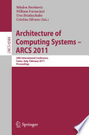 Architecture of Computing Systems   ARCS 2011