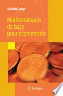 Math  matiques de base pour   conomistes