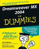 Dreamweaver MX 2004 for dummies