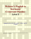 Webster s English to Kurmanji Crossword Puzzles
