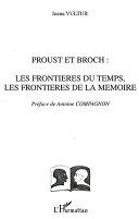 Proust et Broch Book