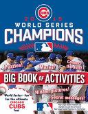 Major League Baseball 2016 World Series Champions  The Big Book of Activities