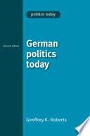 German politics today
