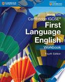Cambridge IGCSE First Language English Workbook