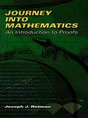 Journey into Mathematics