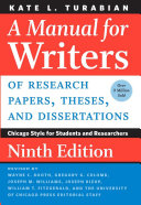 download ebook a manual for writers of research papers, theses, and dissertations, ninth edition pdf epub