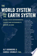 The World System and the Earth System