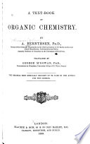 A Text book of Organic Chemistry