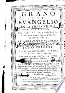 Grano del evangelio     seminario de toda ense  anza  limitada por averla puesto en estas pajas