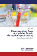 Pharmaceutical Drug Analysis by Atomic Absorption Spectroscopy