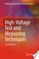 High Voltage Test And Measuring Techniques