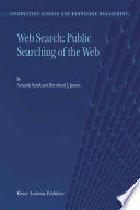Web Search  Public Searching of the Web