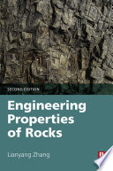 Engineering Properties Of Rocks book