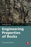 Engineering Properties Of Rocks book