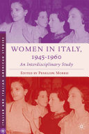 Women in Italy, 1945–1960: An Interdisciplinary Study