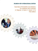 Essentials of Probability   Statistics for Engineers   Scientists  Pearson New International Edition