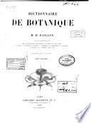 Dictionnaire de botanique