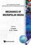 Mechanics of Micropolar Media