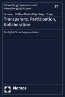 Transparenz, Partizipation, Kollaboration