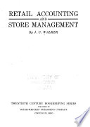 Retail accounting and store management Free download PDF and Read online