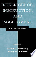 Intelligence  Instruction  and Assessment