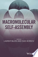 Macromolecular Self Assembly