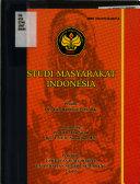 Studi masyarakat Indonesia