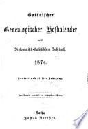 Gothaischer genealogischer Hofkalender nebst diplomatisch-statistichem Jahrbuche