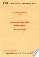 Fatigue Of Concrete Structures State Of The Art Report