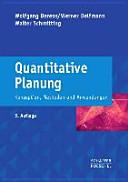 Quantitative Planung
