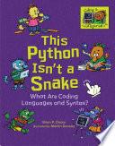 This Python Isn T A Snake