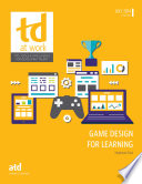 Game Design for Learning