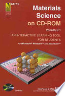 Materials Science on CD-ROM