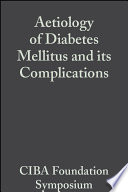 Aetiology Of Diabetes Mellitus And Its Complications Volume 15