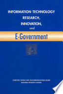 Information Technology Research  Innovation  and E Government