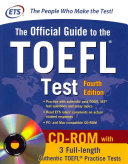 Official Guide to the TOEFL Test With CD ROM  4th Edition