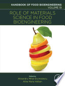 Role of Materials Science in Food Bioengineering