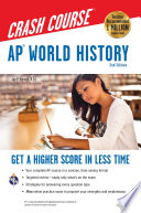 AP   World History Crash Course Book   Online