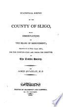 Statistical Survey of the County of Sligo Book PDF