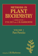Methods in Plant Biochemistry