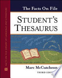 The Facts On File Student S Thesaurus book