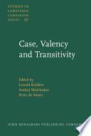 Case  Valency and Transitivity
