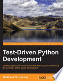 Test Driven Python Development