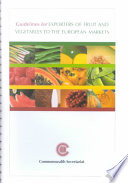 Guidelines for Exporters of Fruit and Vegetables to the European Markets