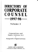 Directory Of Corporate Counsel