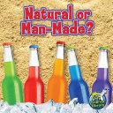 Natural Or Man-Made? Book