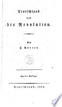 Teutschland und die Revolution
