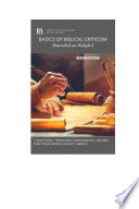 BASICS OF BIBLICAL CRITICISM