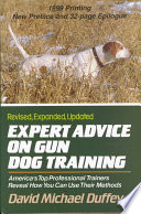 Expert Advice on Gun Dog Training