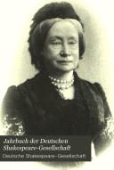 Jahrbuch der Deutschen Shakespeare Gesellschaft